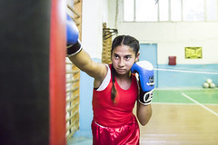 Girl Power - Stella from Moldova (UN Women Gallery) Tags: girl boxing girlchild empowerment moldova unwomen