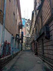 Small Street in Lviv (tarmo888) Tags: lg nexus5 android smartphone geotaggedphoto geosetter sooc photoimage foto vertical year2016 beenwaiting ukraine  ukrayina   lviv lww lvov lemberg   leopolis lwow   nyzhankivskogoostapa