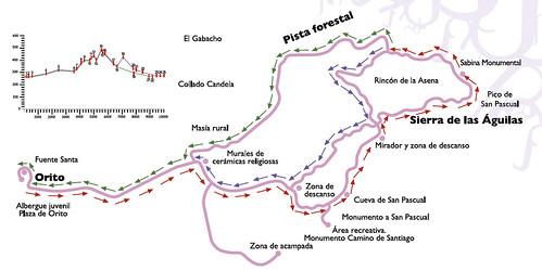 Mapa Sierra Águilas