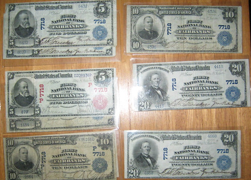 Fairbanks National Currency Notes