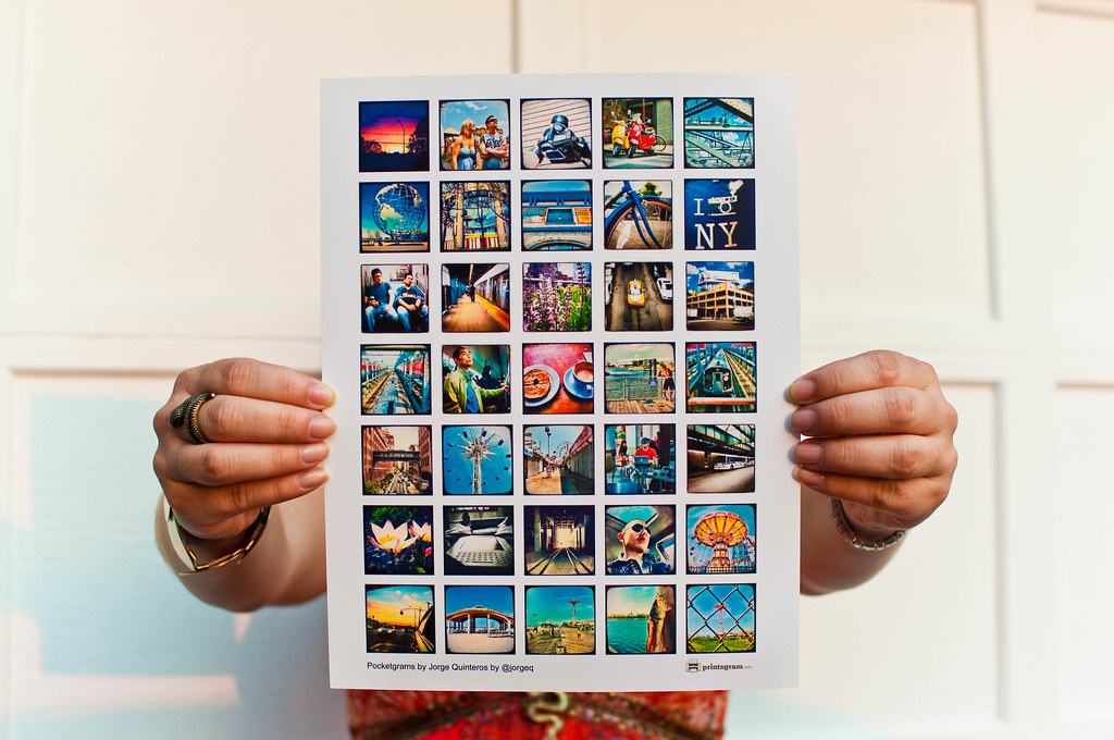 Printsgram Poster by Jorge Quinteros
