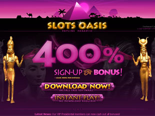 Slots Oasis Casino Home