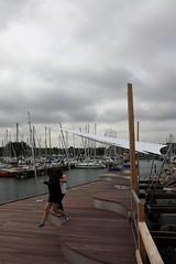 Jump! (dididumm) Tags: new wood marina germany boot pier boat wooden jump ship yacht balticsea holz ostsee schiff neu schleswigholstein seasideresort yachthafen seebad grmitz