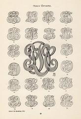 Bergling Monograms (Depression Press) Tags: typography monogram lettering jmbergling