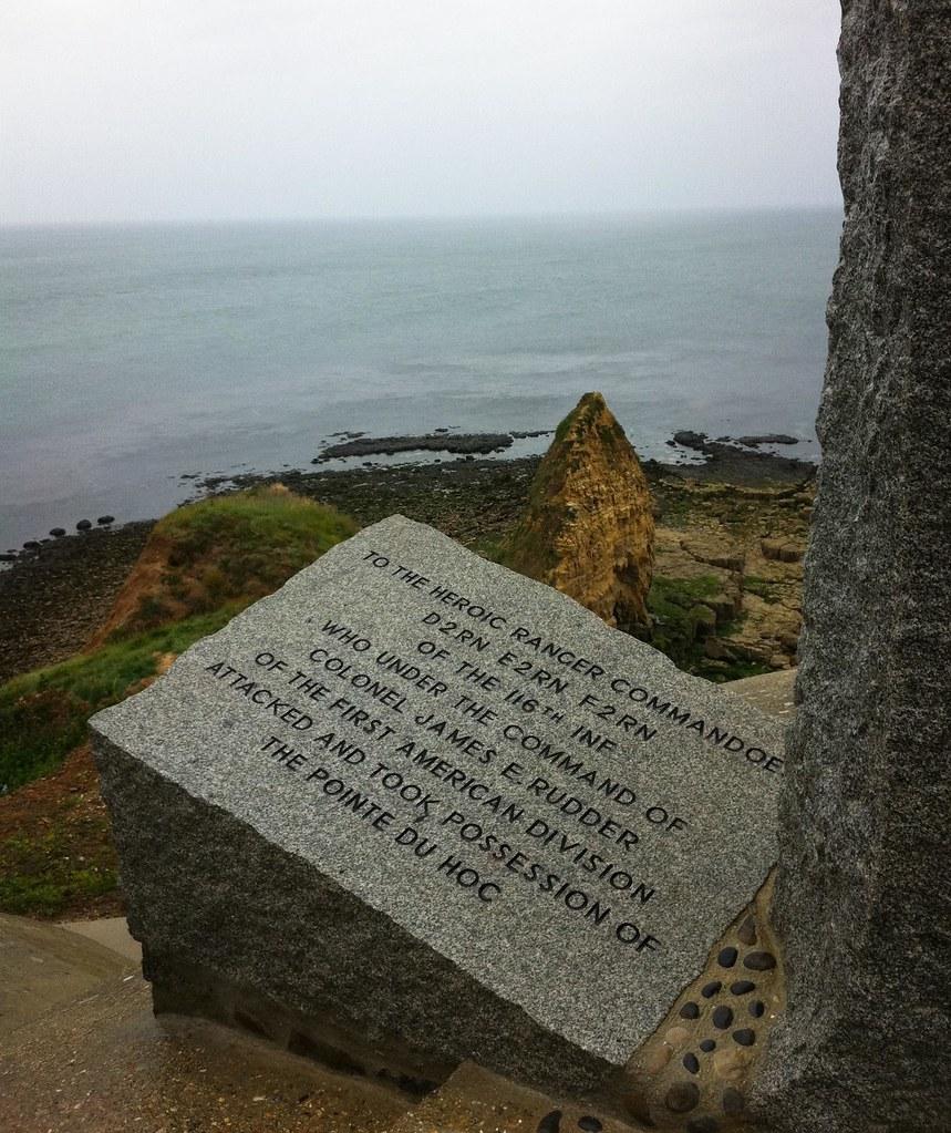 Memorial à la Pointe du Hoc