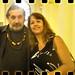 Moacyr Luz e Cristina Ribeiro, na Casa França Brasil.