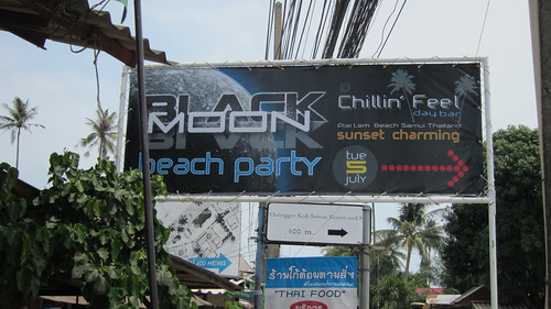 Koh Samui Blackmoon Party 5July 2011