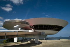 MAC in Niteroi (Quasebart ...thank you for 4 Million Views) Tags: brazil rio brasil riodejaneiro museum architecture mac museo niteroi brasilemimagens