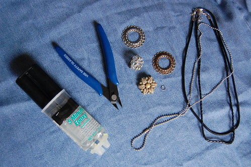 Vintage Earring Necklace Tutorial