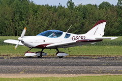 G-SCRZ (QSY on-route) Tags: club aero lincon sturgate egcs gscrz 04062011