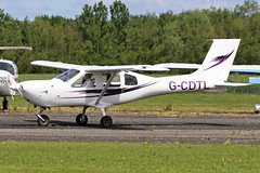 G-CDTL (QSY on-route) Tags: club aero lincon sturgate egcs gcdtl 04062011