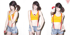 Kendell May (As Misty From Pokemon)-Explored! (Evan Dell Photography) Tags: blue red evan white black green misty canon studio 50mm mark f14 bare may boom diamond 1600 ii dell pokemon l 5d pearl usm really alienbee f28 saphire 2470mm kendell ab1600 evandell wwwevandellphotographycom