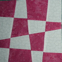 Sophie's liberated checkerboard block #2
