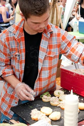 Food Truck Eats - Lobster Sliders