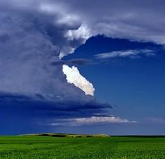 cabri11g22 Prairie Storm Clouds, Saskatchewan (CanadaGood) Tags: riverside storm agriculture farm 2011 colour color white blue green afternoon prairie clouds saskatchewan sk canada best favourite thisdecade canadagood