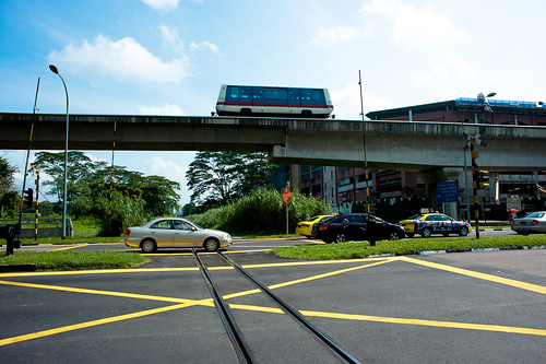 Chua Chu Kang Level Crossing