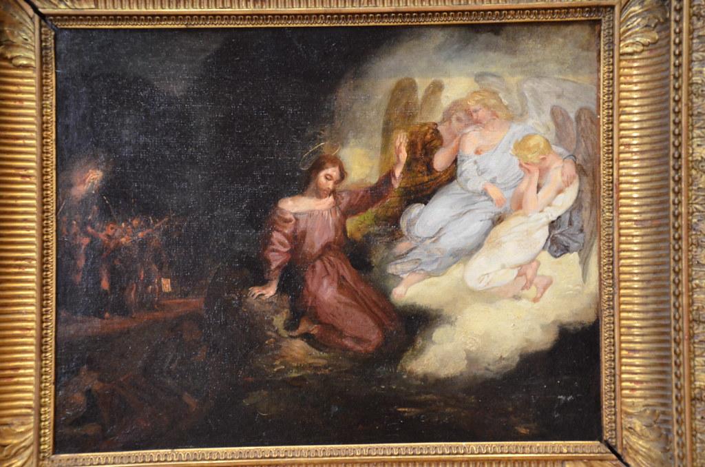 Le Christ au jardin des Oliviers - Delacroix