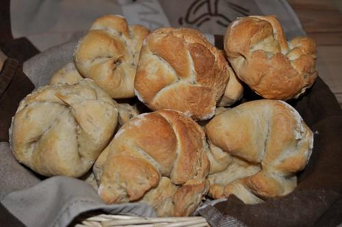 Viennese Bread - Kaiser Rolls