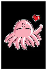 cute tentacle monster