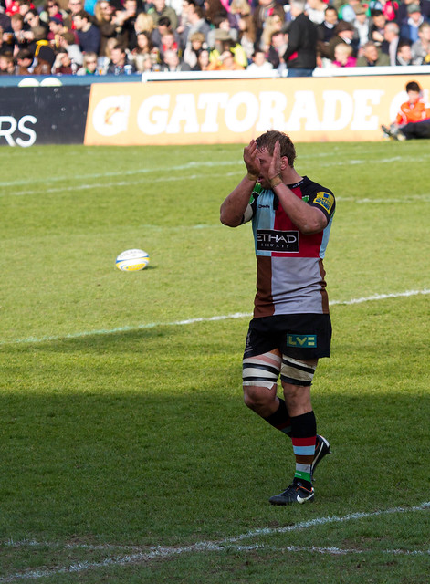 Chris Robshaw off for a well deserved rest!