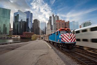 Metra Train.