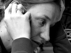 __ (Aidix) Tags: portrait woman retrato thinking pensativa