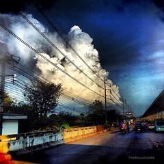 อยากกอดนะ ☁ #cloud #street #thaipoppalah