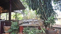 Wang Pho Restaurant, Ban Wang Pho, Thailand (David McKelvey) Tags: river thailand restaurant 2012 kwai wangpho