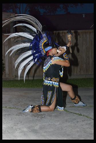 y Danza Azteca Taxcayolotl closing ceremony