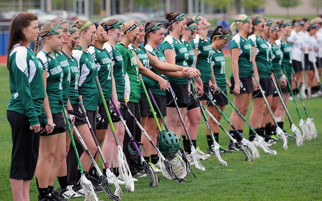 The 2013 women's lacrosse team will look to get back to the CACC Tournament like it did here at Georgian Court in 2012. Copyright 2012; Wilmington University. All rights reserved.