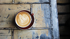 Latte at Stumptown. (jen.rizzo) Tags: coffee portland
