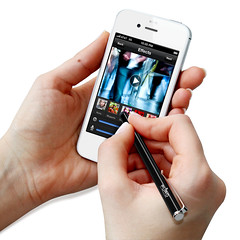 black pen pencil silver tablet puro smartphones tablette... (Photo: DELPHICO on Flickr)