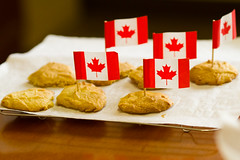 Maple Cookies (Fesapo) Tags: food canada cookies japan canon dessert prime baking maple cookie dof sweet bokeh flag treats patriotic canadian delicious 7d sweets syrup shimane bake matsue baked ocanada   135mmf2l