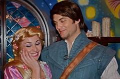 Rapunzel and Flynn (EverythingDisney) Tags: princess disneyland disney rapunzel tangled flynnrider eugenefitzherbert disneyland562012