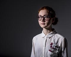 Ivy I (kelsey-mcmillan) Tags: trees snow green nerd nature girl ginger model ivy redhead triumph superhero poison villain