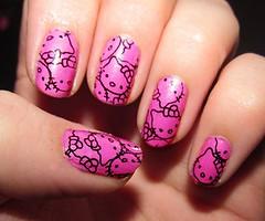 Pink nails (piempong) Tags: pink nails