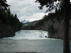 Tranquility (Mr. Happy Face - Peace :)) Tags: yyc banff bowriver parkway nature bowfalls