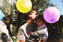 Happy Birthday (Marta Marcato) Tags: child children color bokeh party birthday man bambino bambini colori festa compleanno uomo palloncini balloons garden home giardino casa