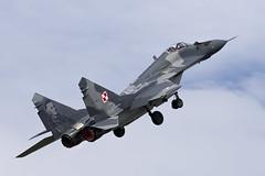 Mikoyan-Gurevich MiG-29A - 12 (NickJ 1972) Tags: raf fairford riat royalinternationalairtattoo airshow 2016 aviation mikoyan gurevich mig29 fulcrum 108