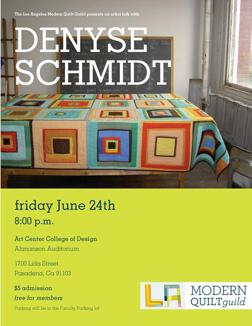 Denyse Schmidt talk