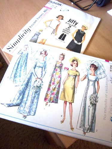 Sewing Patterns 1960s by