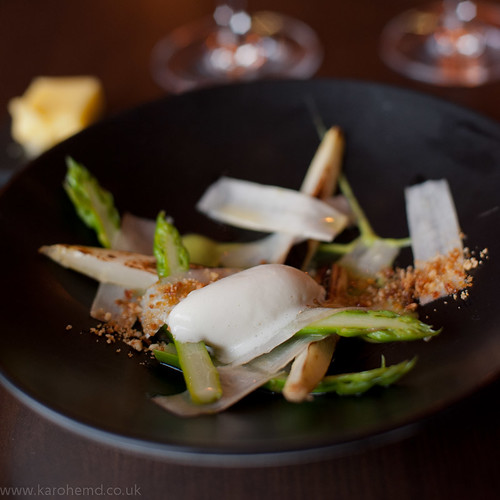 Alimentum - Asparagus, Goat's Cheese Ice Cream