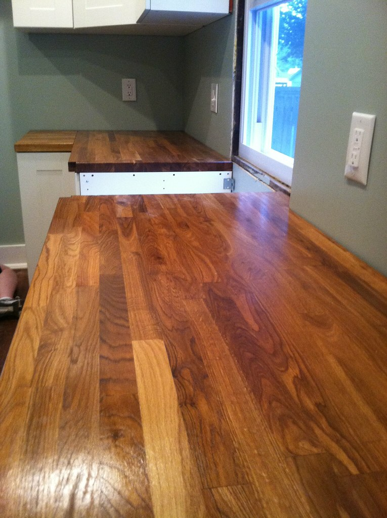 A Review Butcher Block Countertops And Waterlox Finish