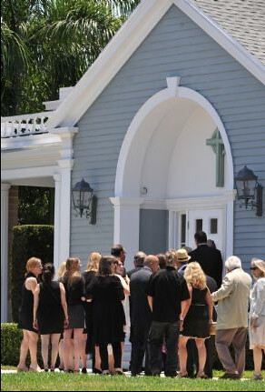 Clarence Funeral
