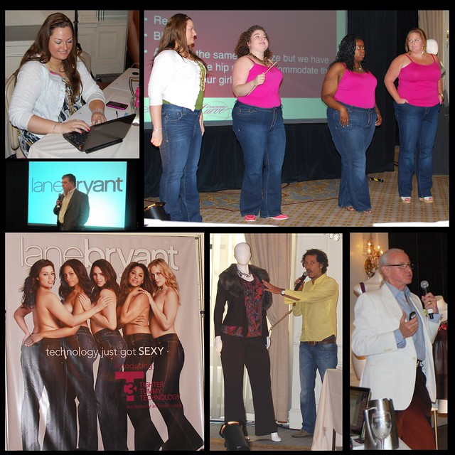 Lane Bryant Conference 2011 combo1