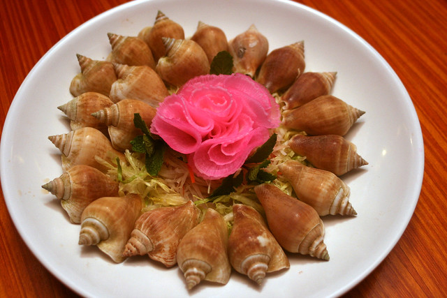 Gong gong - snail-like shellfish