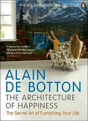 The Architecture of Happiness, by Alain de Botton (cover)