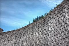 The Wall (JapanDave) Tags: sky abstract japan clouds photoshop canon  hdr aichiprefecture chubu honshu  mikawa tonemapped photomatixpro  laspina eos450d   davidlaspina efs1855mmf3556is rebelxsi kissx2 1855efsis topazadjust okazakicity japandave japandavecom