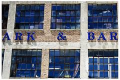 Ark & Bar Blues (swanksalot) Tags: windows signs window bar blues letter ark ampersand swanksalot sethanderson