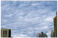 Cloudscape in the West Loop - Number 2200 (swanksalot) Tags: cloud chicago clouds westloop swanksalot sethanderson